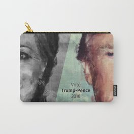 Vote Trump-Pence 2016 Carry-All Pouch