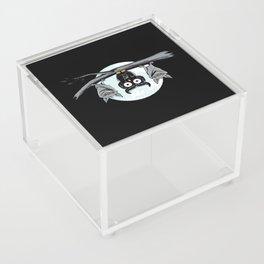Cute Owl With Friends Acrylic Box