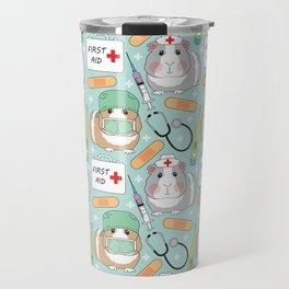 Doctor and Nurse Guinea Pigs Travel Mug