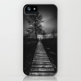 On the wrong side of the lake 9 iPhone Case