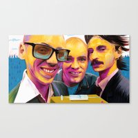 trainspotting Canvas Prints featuring Trainspotting by Zmudart