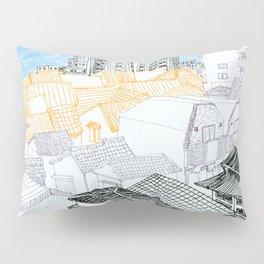 Tokyo landscape Pillow Sham