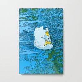 Wild Geese Metal Print