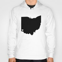 cincinnati Hoodies featuring Cincinnati, Ohio, Home by Laura's Delirium
