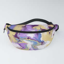 Flowing abtract Fanny Pack