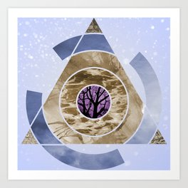 In With Nature Art Print