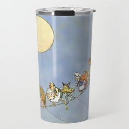 """""""The Fairy's Birthday"""" Illustration by W Heath Robinson Travel Mug"""