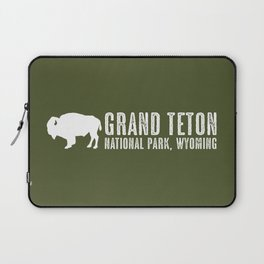 Bison: Grand Teton, Wyoming Laptop Sleeve