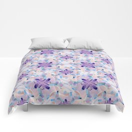 Jess Abstract Painting Comforters