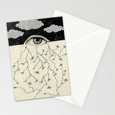 eye terminal Stationery Cards