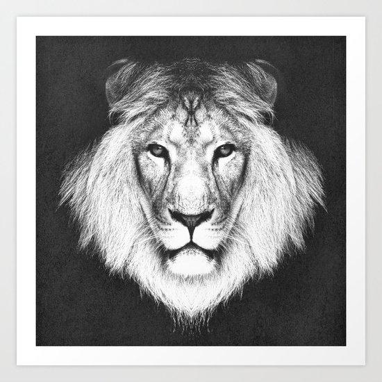 LION 5 Art Print