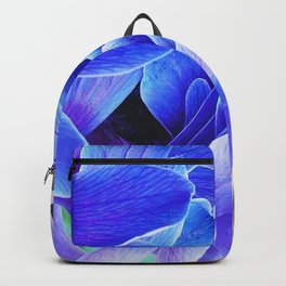 blue anemone Backpack