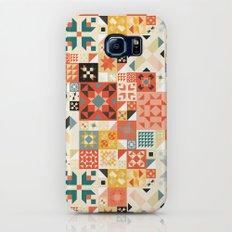 Modern Quilt Pattern Galaxy S7 Slim Case