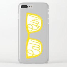 Cali Girl Sunnies Clear iPhone Case