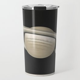 The Trouvelot Astronomical Drawings (1881) - The Planet Saturn, 1874 Travel Mug