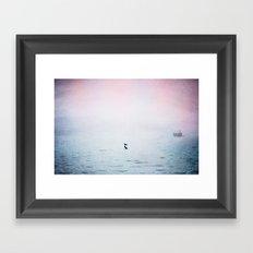 A Moment of Rest - Breathe Framed Art Print
