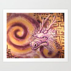 Gazing Into Infinity Art Print