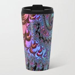 Metallic Fractal Travel Mug