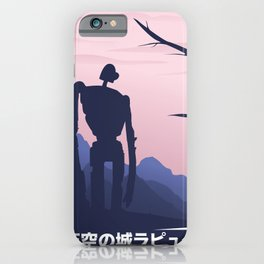 Laputa - Castle in the Sky Alternative Movie Poster iPhone Case