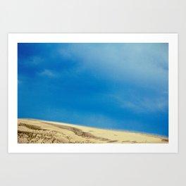 Bluest Sky Art Print