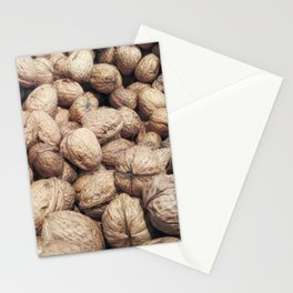 walnuts with shell Stationery Cards