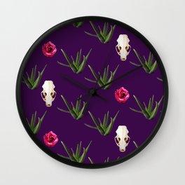 Flora and Fauna 4 Wall Clock