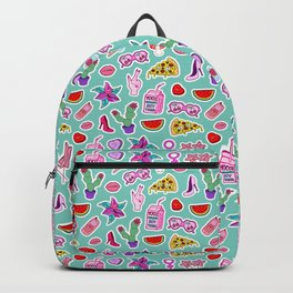 Green Punch Backpack