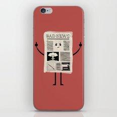 Bad News iPhone Skin