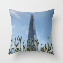 The Shard Grows Throw Pillow