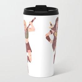 Xena and Gabrielle Travel Mug