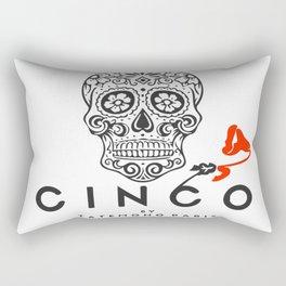 Cinco by Tatemono Paris Red Rose Rectangular Pillow