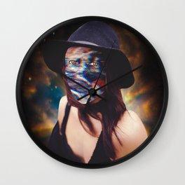 Portrait of the Self vol. 1 Wall Clock