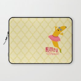 Just Dance with Banana Ballerina Laptop Sleeve