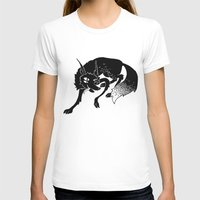 wolf T-shirts featuring Wolf by Anya Volk