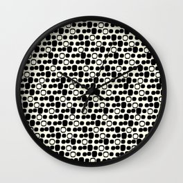 Black Tie Collection Small Geo Wall Clock