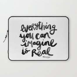 Everything You Can Imagine Quote Laptop Sleeve