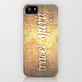 Travel Spirit #3 iPhone Case