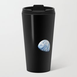 Apollo 8 - Iconic Earthrise Photograph Travel Mug