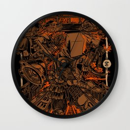 SAMURAI 2 Wall Clock