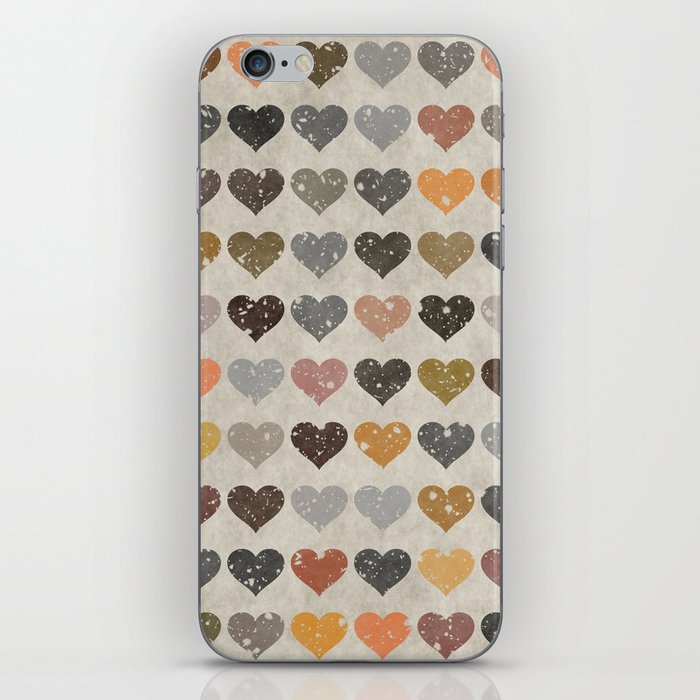 Hearts iPhone Skin