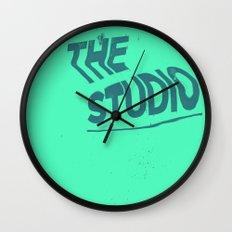 The studio #4 Wall Clock