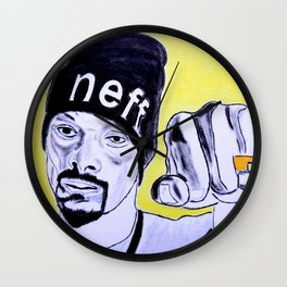 Snoop Dog Wall Clock