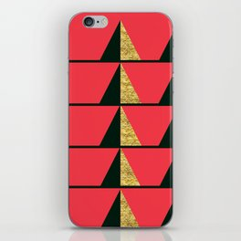 Holiday Trees iPhone Skin
