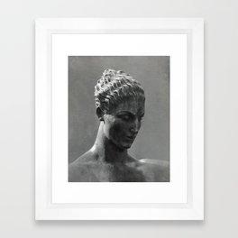 'Diana (detail) by W.L.Bowles, 1939' (c)Joel Stephen Birnie, April 2017 Framed Art Print