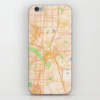 dallas iPhone & iPod Skins featuring Dallas, Texas by Emily Day