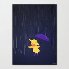 Rain, Rain  Canvas Print