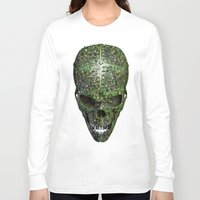 data Long Sleeve T-shirts featuring Bad data by GrandeDuc