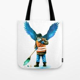 street sweeper Tote Bag