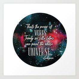 Godsgrave Quote Art Print