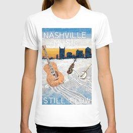 Nashville Music Still Flows T-shirt
